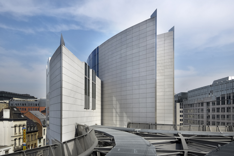 Parlement europ en atelier d 39 architecture de genval for De atelier architects